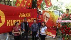 """HKP Ustası Hikmet Kıvılcımlı'yı mezarı başında andı: """"Türkiye Devrimi'nin Anahtarı Hikmet Kıvılcımlı'nın Teori ve Pratiğidir"""""""