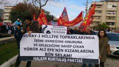 """HKP Olarak Milas'taki """"Özelleştirmeye Hayır Emek ve Bağımsızlık Yürüyüşü ve Mitingi""""ndeydik"""
