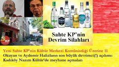 Okuyan ve Aydemir Hafızların son büyük devrimci(!) açılımı: Kadıköy Nazım Kültür'de meyhane açmaları