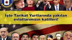 Yanan bu yurtların, kurban edilen çocukların katilleri ABD Emperyalistleri ve  başta Kaçak Saraylı Reis'in AKP'giller'i gelmek üzere  Meclisteki Dört Amerikancı Sermaye Partisidir!