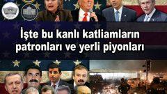 Saygıdeğer Halkımız;  Yıllar yılıdır söylüyoruz, feryat ederek:  ABD Emperyalist haydutları Yugoslavya'yı, Irak'ı, Libya'yı, Suriye'yi parçaladılar, sıra Türkiye'ye geldi, diye