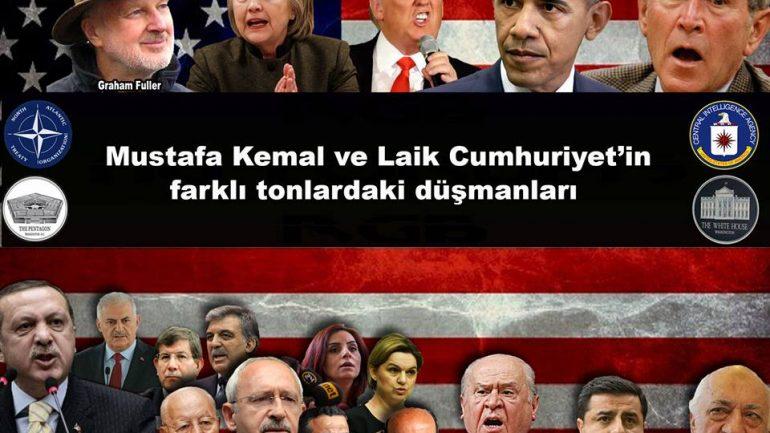 """Mustafa Kemal ve Laik Cumhuriyet'in azgın düşmanı, Pontusçu Mehmet Bekâroğlu'nu biliyoruz da ya TESEV'ci, Sorosçu, TR 705'çi, Selina Doğan'cı, Selin Sayek Böke'ci Kemal""""e ne diyeceğiz?"""