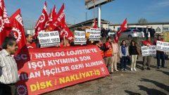 Nakliyat-İş'ten:  İşçi ve Sendika Düşmanlığına karşı MSC/Medlog Lojistik Direnişi 100. gününde