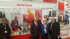 Ege Adalarının işgaline seyirci kalan AKP'giller'i TÜYAP 10. Çukurova Kitap Fuarı'nda da teşhir ettik…