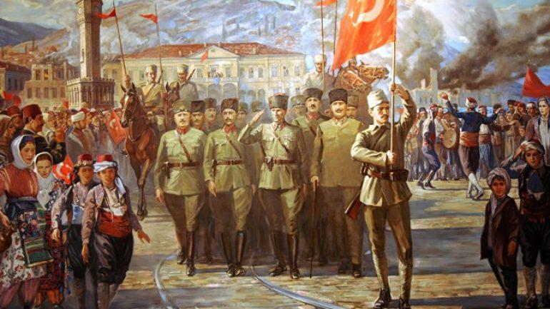9 EYLÜL 1922 İZMİR'İN KURTULUŞU HALKIMIZA KUTLU OLSUN