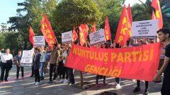 Kurtuluş Partisi Gençliği Eğitimin Gericileştirilmesine Karşı Kadıköy'deydi