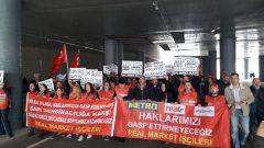 Nakliyat-İş'ten: Real Market İşçileri, Hileli İflasa Karşı İstanbul Anadolu Adliyesi'nde Mücadeleye Devam Ediyor