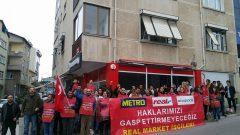 Kurtuluş Partisi Gençliği, Direnişçi Real İşçileri'ni ziyaret etti… Safımız İşçi Sınıfı'nın Yanıdır!