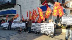 HKP İzmir İl Örgütü yılın ilk eyleminde Sefalet Ücretini protesto etti