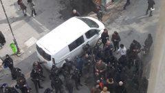 AKP'nin Polisi ABD'nin Bakanını Protesto Etmeyi Engelledi!