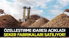 HKP'den Suç Duyurusu: Şeker Fabrikalarının Satılması Suçtur!