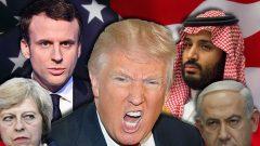 ABD, İngiltere ve Fransa Emperyalist Haydut Çakallarının, İblis'i bile yüze, bine katlayan şu alçakça ve namussuzca oyununa bir bakar mısınız?..