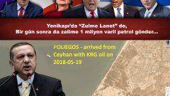 """Yenikapı'da """"Zulme Lanet"""" de, Bir gün sonra da zalime 1 milyon varil petrol gönder…"""