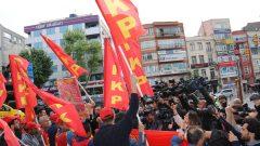 1 Mayıs'ın Anavatanı Taksim yasaklanamaz!  Gözaltına alınan Yoldaşlarımız derhal serbest bırakılsın!