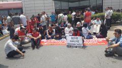 Nakliyat-İş'ten: Makro/Uyum Market İşçileri ve Real Market Direnişçileri, yerli-yabancı parababalarının işçi düşmanlığına karşı direnmeye, mücadele etmeye devam ediyor