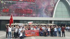 Nakliyat-İş'ten: Makro/Uyum Market İşçileri ile Real Direnişçilerinin mücadelesi ortaklaştı