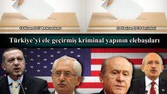 Türkiye'yi ele geçirmiş kriminal yapının elebaşıları