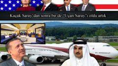 """Kaçak Saray'dan sonra bir de """"Uçan Saray""""ı oldu artık"""
