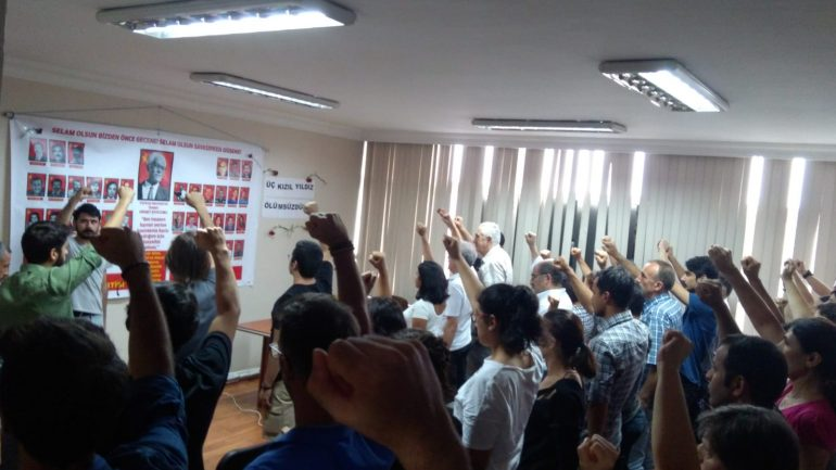 Üç Şehitler; Mahmut-İbo ve Sadi Yoldaşlar İstanbul'da anıldı