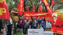 Türkiye Devrimi'nin Önderi Hikmet Kıvılcımlı gerçek devamcıları tarafından anıldı