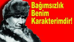 Mustafa Kemal Ölümsüzdür!