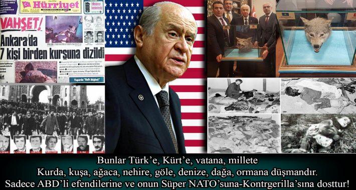 Bunlar Türk'e, Kürt'e, vatana, millete kurda, kuşa, ağaca, nehire, göle, denize, dağa, ormana düşmandır…