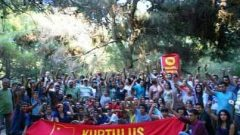5'inci Kurtuluş Partisi Gençlik Kampı İzmir Yamanlar-Karagöl'de gerçekleştirildi