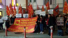 HKP'li Kadınlar 8 Mart Dünya Emekçi Kadınlar Günü'nde Türkiye'nin dört bir yanında alanlardaydı
