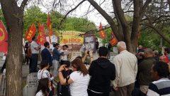 Kurtuluş Partisi Gençliği Üç Fidan'ı Mezarları Başında Andı