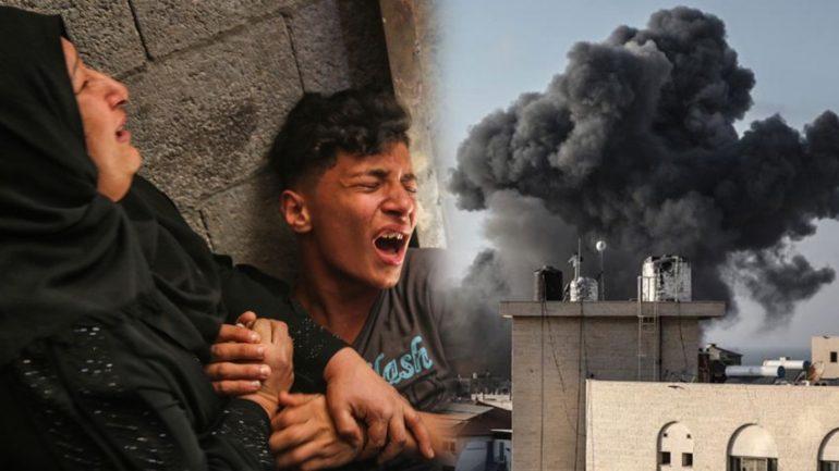 Durmuyor AB-D Emperyalistlerinin Ortadoğu'daki Bekçi Köpeği İsrail, katletmeye devam ediyor
