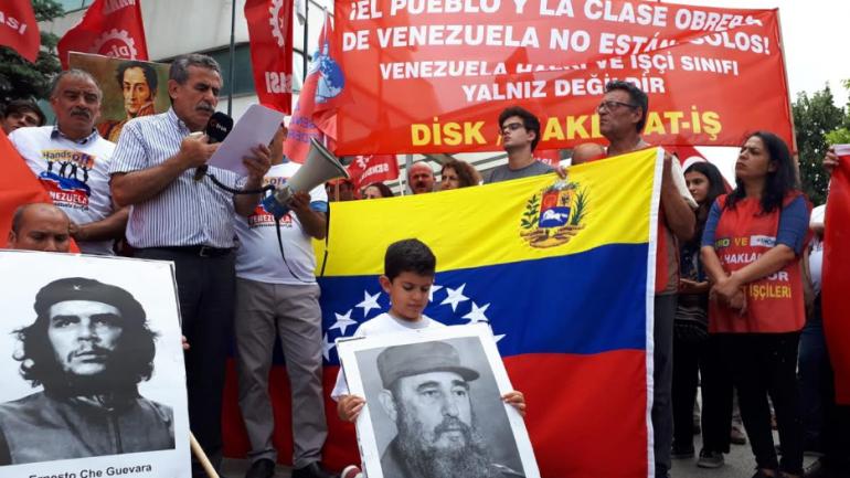 Nakliyat-İş'ten: Venezuela İşçi Sınıfı ve Halkı yalnız değildir