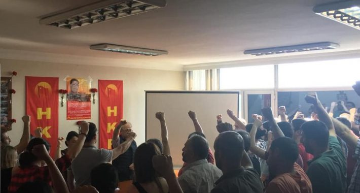 Recep Vurmuş Yoldaş Halkların ve İşçi Sınıfının Kurtuluş Mücadelesinde Yaşıyor!