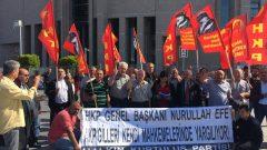 """HKP Genel Başkanı Nurullah Ankut, Kaçak Saraylı Reis'i ve avanesini bir kez daha kendi mahkemelerinde yargıladı:  """"AKP'giller eninde sonunda buralara gelip yargılanacaklar!"""""""