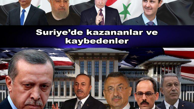 Suriye'de kazananlar ve kaybedenler