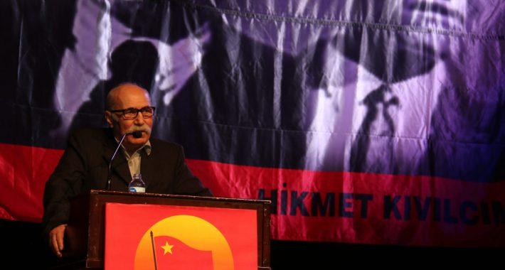 Türkiye Devrimi'nin Önderi Hikmet Kıvılcımlı Usta'yı bir kez daha coşkuyla andık
