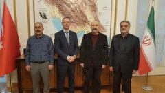Halkın Kurtuluş Partisi'nden İran Büyükelçiliği'ne Taziye Ziyareti