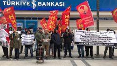 2020'nın İlk Eylemi HKP'den: HKP İzmir İl Örgütü'nden Sefalet Ücreti Protestosu