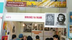 Derleniş Yayınları 18'inci Bursa Kitap Fuarı'nda devrimci heyecanını Bursa Halkına taşıdı