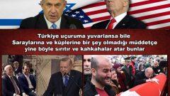Türkiye uçuruma yuvarlansa bile  Saraylarına ve küplerine bir şey olmadığı müddetçe yine böyle sırıtır ve kahkahalar atar bunlar