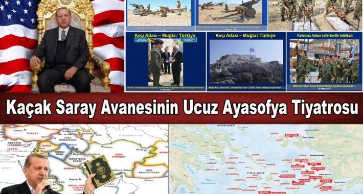 Kaçak Saray Avanesinin Ucuz Ayasofya Tiyatrosu
