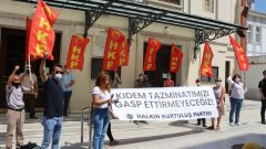 İstanbul'da Kıdem Tazminatı gaspına karşı alandaydık