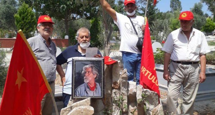 HKP İskenderun İlçe Başkanı Mehmet Köroğlu Yoldaş'ı bedence aramızdan ayrılışının 11'inci yıldönümünde andık
