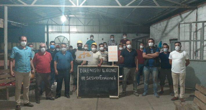 Hakları için direnen Cenne Maden Ocağı işçilerini ziyaret ettik