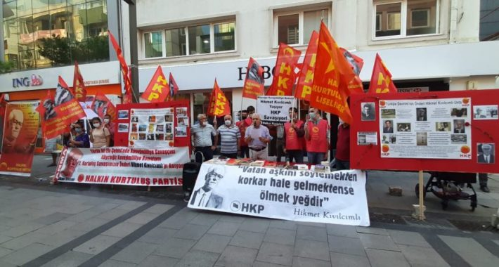 Türkiye Devrimi'nin Önderi Hikmet Kıvılcımlı Usta İzmir'de anıldı