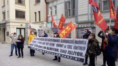 Yaşanan İzmir Depremi Katliamından ve adım adım yaklaşan İstanbul Depreminde kaybedileceği öngörülen yüz binlerce candan sorumlu olan AKP'giller ve Yeni CHP'yi Kadıköy'de protesto ettik!