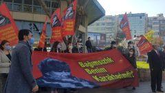AKP'giller'in kolluk kuvvetleri Anıtkabir'i Mustafa Kemal'e yasaklamaya devam ediyor!