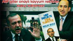 AKP'giller onaylı kayyum rektörler kabul edilemez