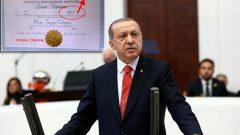 Recep Tayyip Erdoğan diplomasızdır, Cumhurbaşkanlığı meşru değildir! Kendine yapılan bütün ödemeler Halkın parasıdır, geri alınması gerekir!  Eninde sonunda da alınacaktır!