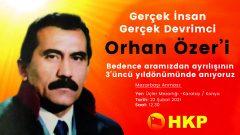 Orhan Özer Yoldaş Ölümsüzdür!