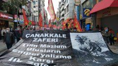 """Çanakkale Zaferi'mizin 106'ncı yılında bir kez daha haykırdık: """"Çanakkale Geçilmez, Direnen Halklar Yenilmez!"""""""